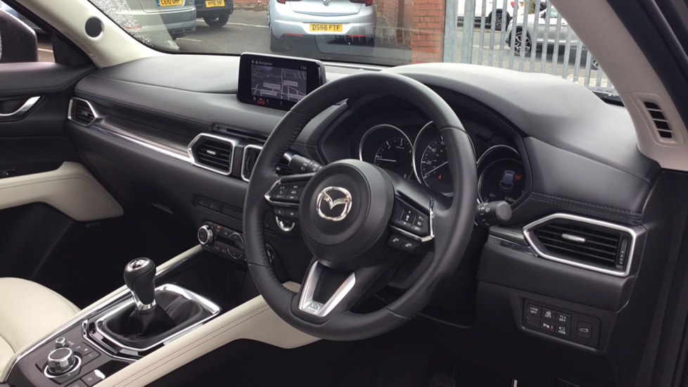 Mazda CX-5 2.2d [184] Sport Nav+ 5dr AWD STONE LEATHER + SAFETY PACK image 9