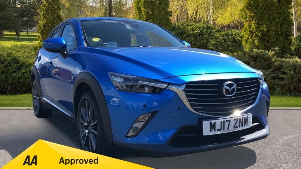 Mazda CX-3 2.0 Sport Nav, Sat Nav, Heated Seats, Reversing Camera Automatic 5 door Hatchback (2017)