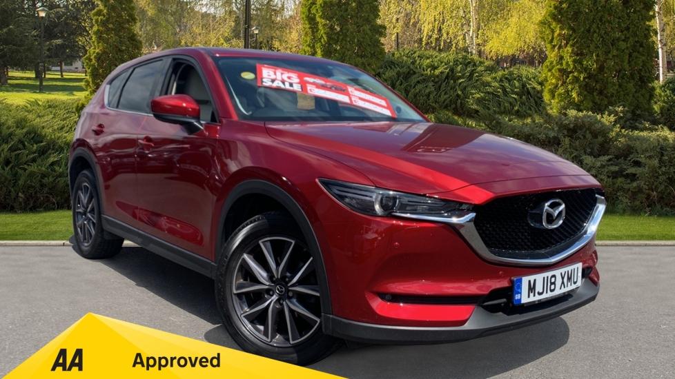 Mazda CX-5 2.2d [175] Sport Nav 5dr AWD - Sat Nav, Reversing Camera, Bluetooth & DAB Radio Diesel Estate (2018) image