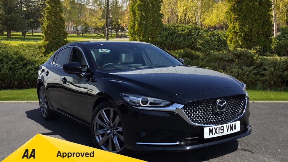 Mazda 6 2.2d GT Sport Nav+ MAZDA SAFETY PACK Diesel Automatic 4 door Saloon (2019) image
