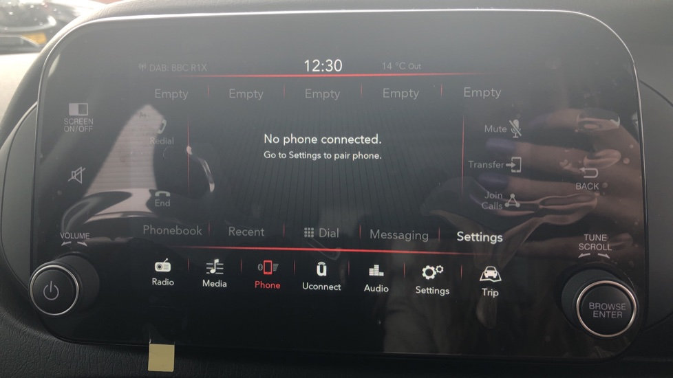 Fiat Tipo 1.0 Life 5dr UConnect, Multifunctional Steering Wheel, climate Control image 29