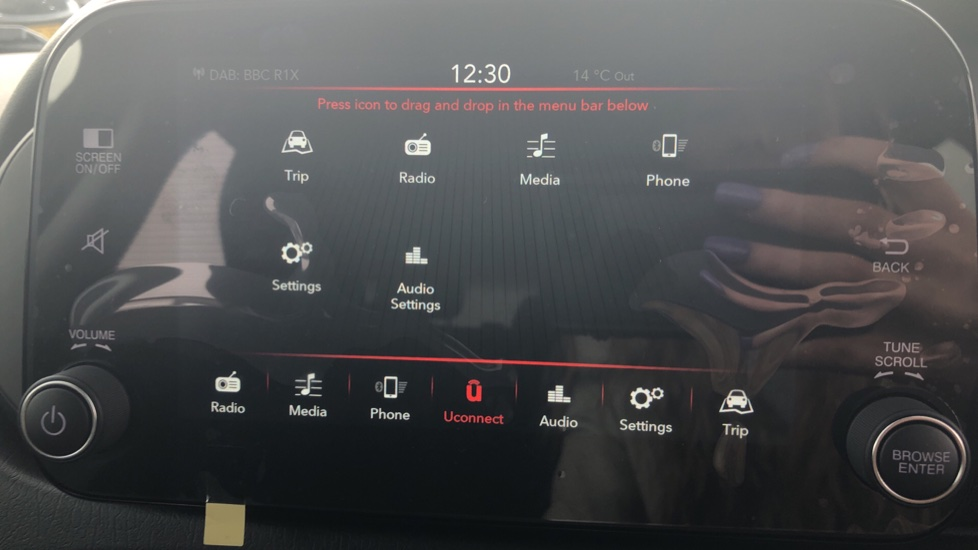 Fiat Tipo 1.0 Life 5dr UConnect, Multifunctional Steering Wheel, climate Control image 30