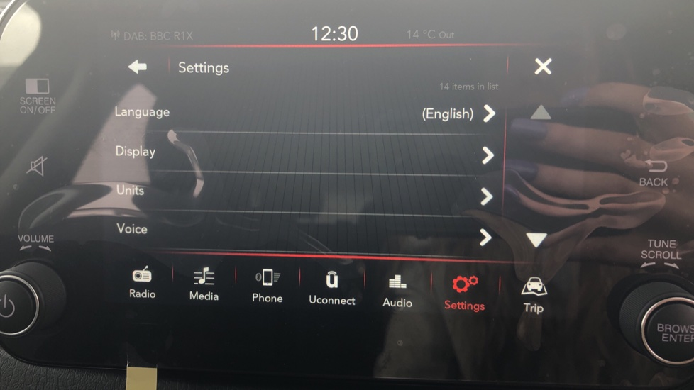 Fiat Tipo 1.0 Life 5dr UConnect, Multifunctional Steering Wheel, climate Control image 32