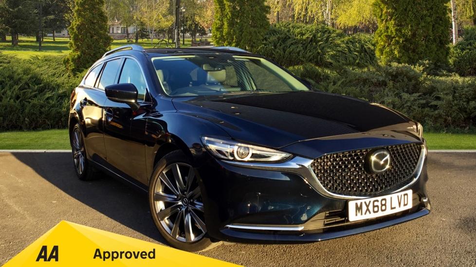 Mazda 6 2.2d [184] Sport Nav+ 5dr Diesel Estate (2018) image