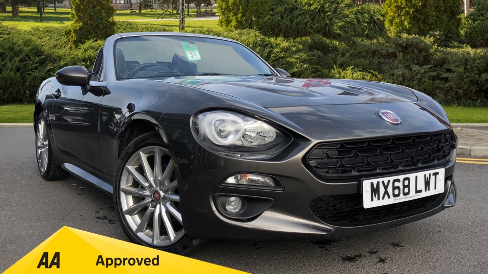 Fiat 124 Spider 1.4 Multiair Lusso 2dr Convertible (2018)