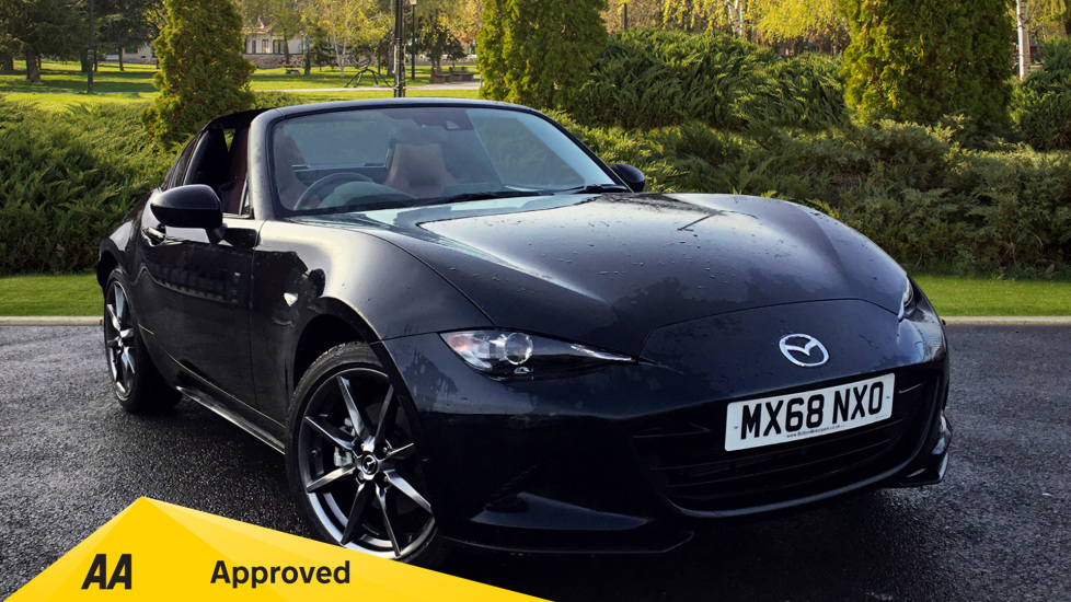 Mazda MX-5 2.0 Sport Nav 2dr [NAPPA LEATHER]  Convertible (2018)