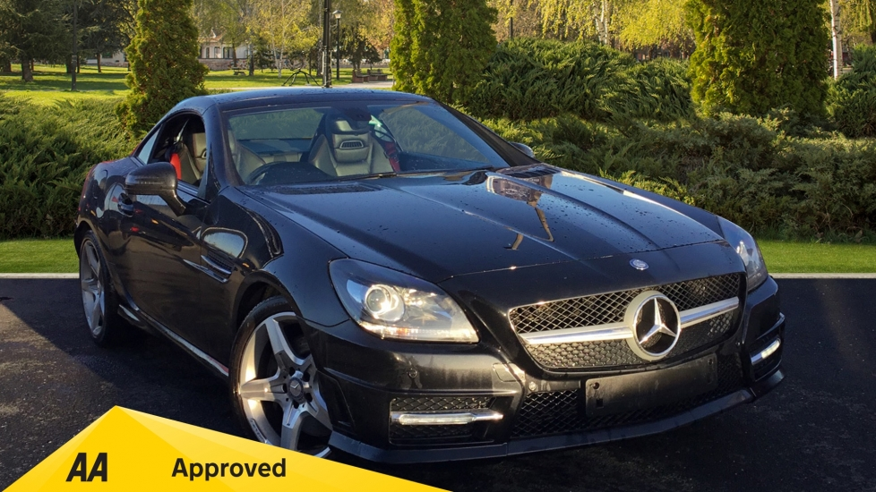 Mercedes-Benz SLK-Class SLK 200 BlueEFFICIENCY AMG Sport 2dr Tip 1.8 Automatic Roadster (2012) image