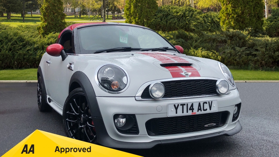 Mini Coupe 1.6 John Cooper Works 3dr [Start Stop] with Comprehensive Factory Extras 2 door Coupe (2014)