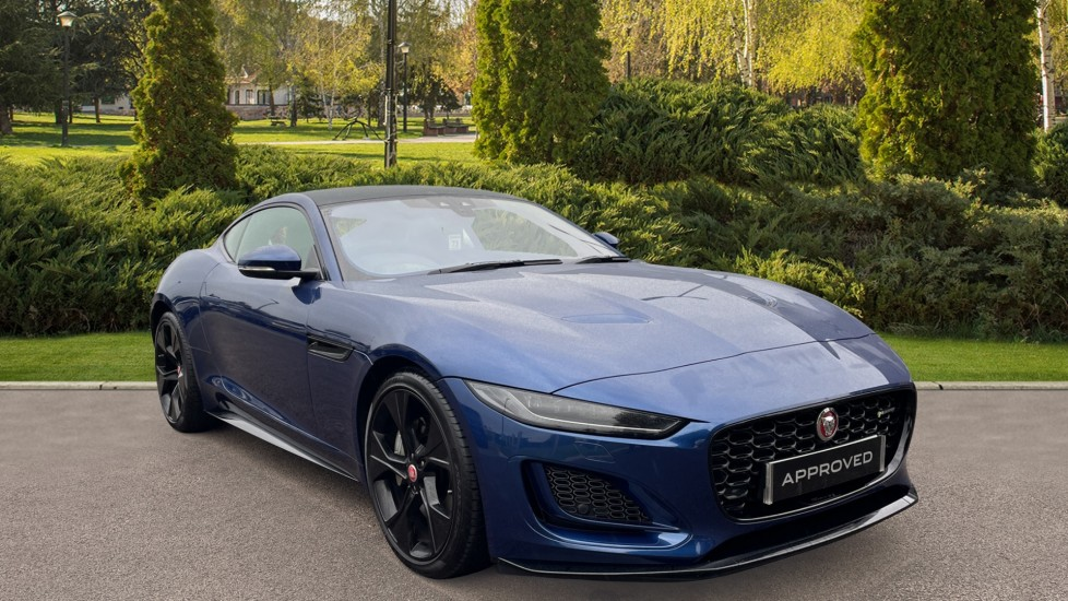 Jaguar F-TYPE 2.0 P300 R-Dynamic Fixed Panoramic roof Meridian Sound System Automatic 2 door Coupe