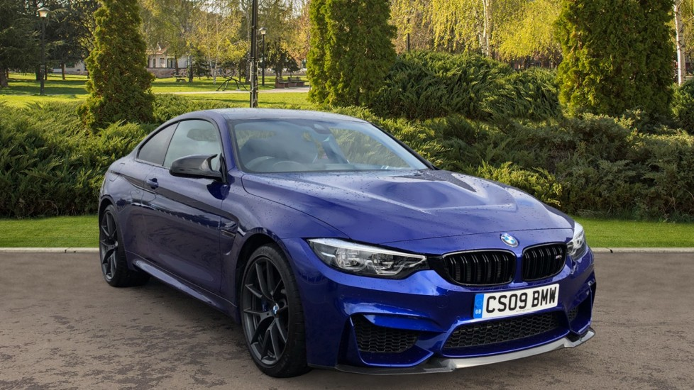 BMW M4 CS 2dr DCT 3.0 Automatic 3 door Coupe (2018)