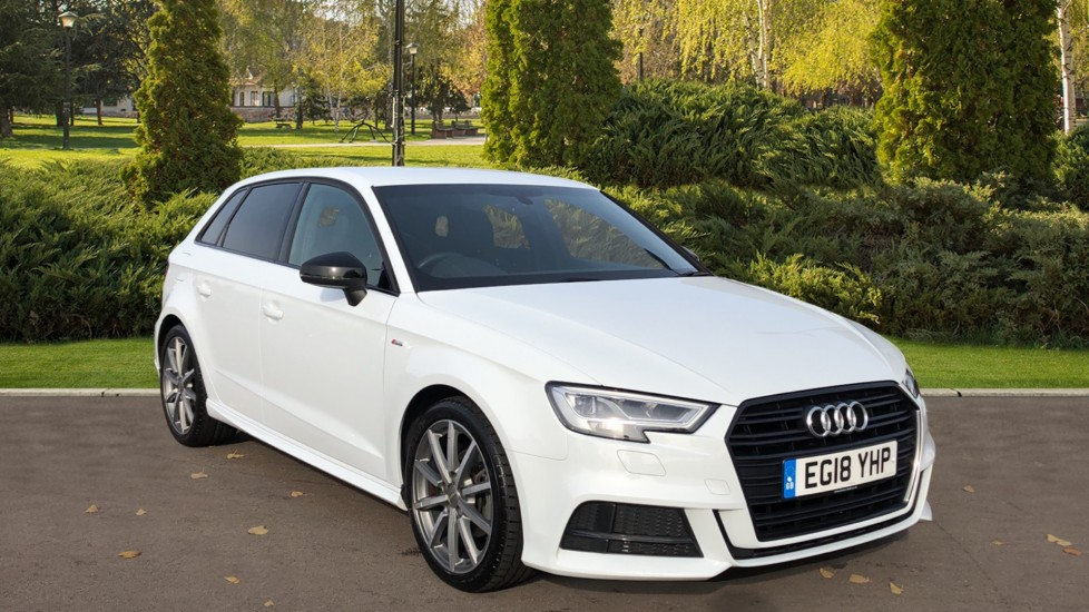 Audi A3 1.5 TFSI Black Edition S Tronic Automatic 5 door Hatchback (2018)