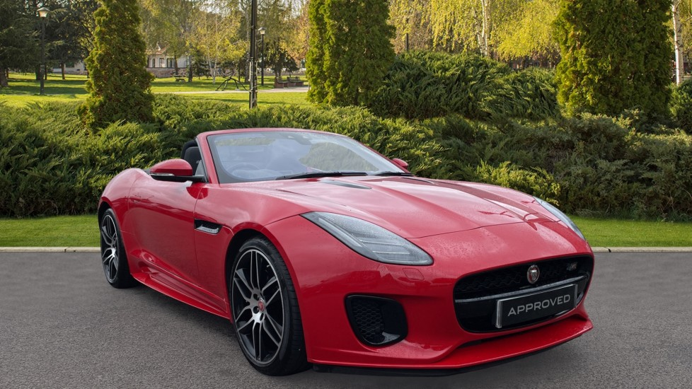 Jaguar F-TYPE 2.0 Chequered Flag 2dr Automatic Convertible