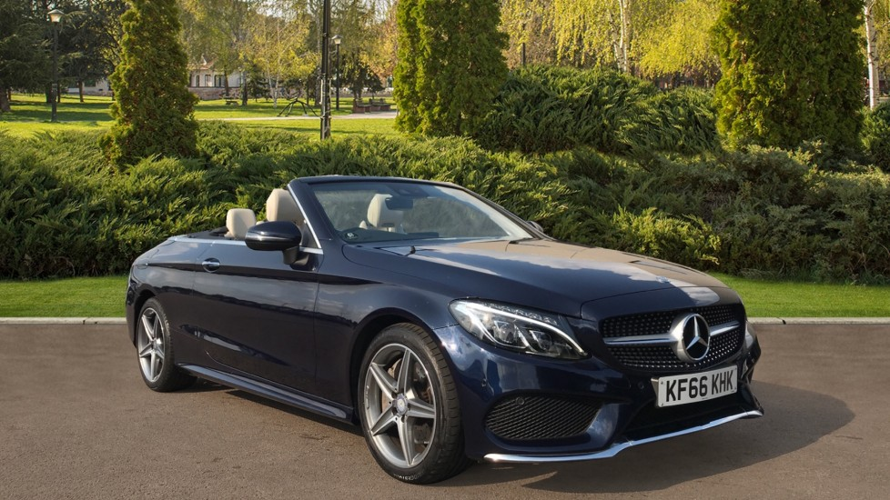 Mercedes-Benz C-Class C300 AMG Line with Rear Camera and Heated Seats 2.0 Automatic 2 door Cabriolet
