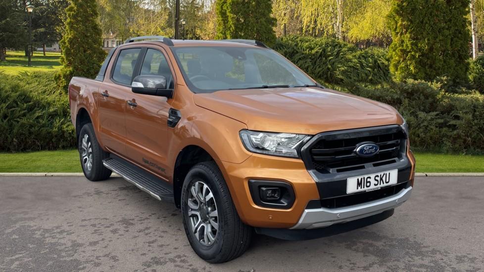 Ford New Ranger RANGER WILDTRAK ECOBLUE 4X4, Double Cab, SATNAV, **NO VAT TO PAY**, 2.0 Diesel Automatic 4 door Pickup (2019) at Ford Croydon thumbnail image