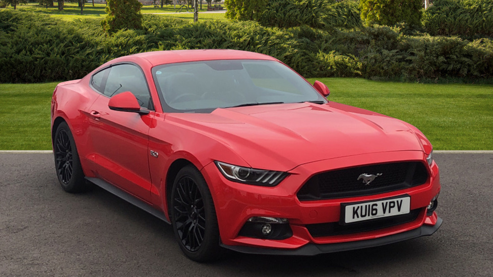 Ford Mustang 5.0 V8 GT 2dr 3 door Coupe (2016)