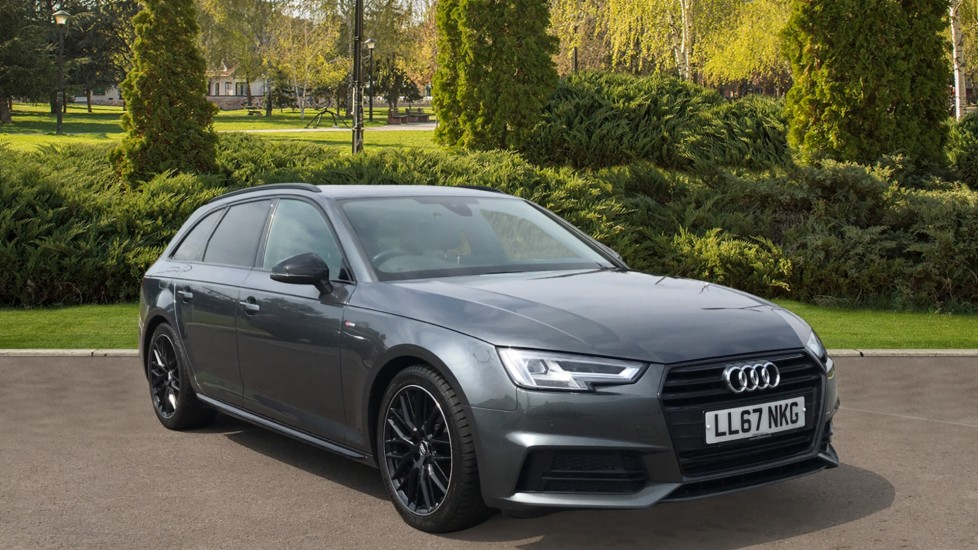 Audi A4 2.0T FSI Black Edition S Tronic with Navigation and Heated Seats Automatic 5 door Estate
