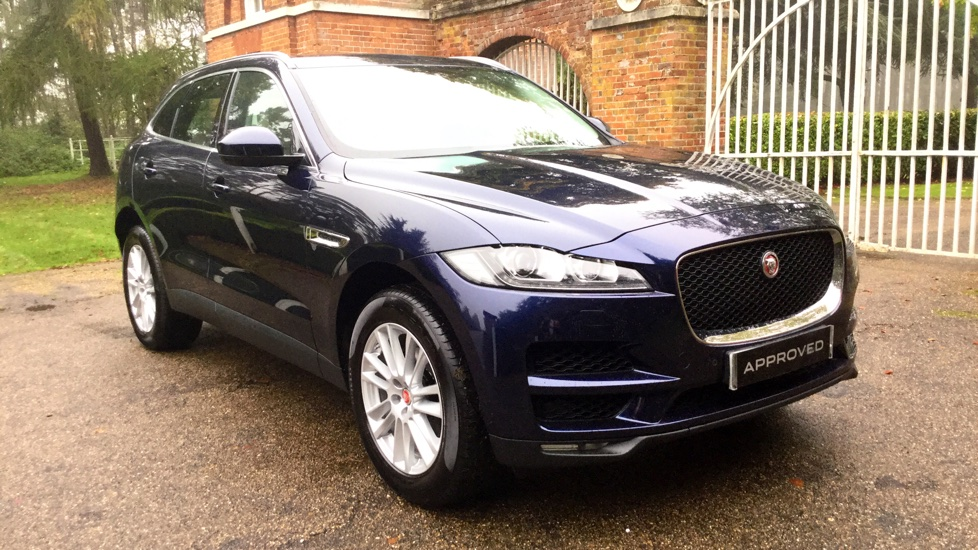 Jaguar F-PACE 2.0 Portfolio 5dr AWD Automatic Estate (2017)