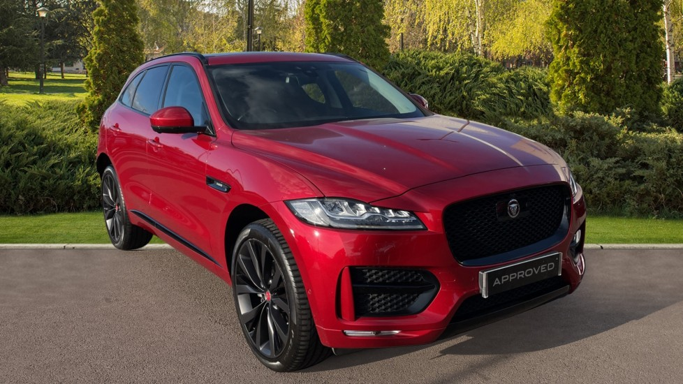 Jaguar F-PACE 2.0d [240] R-Sport AWD with Adaptive Cruise, Panoramic Sunroof and Climate Front Seats Diesel Automatic 5 door 4x4