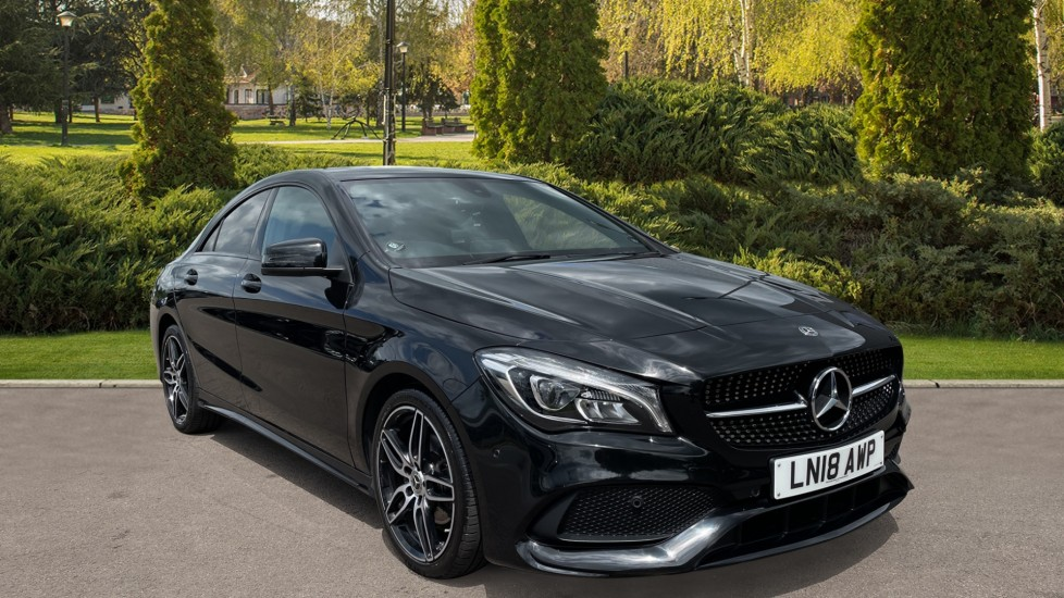 Mercedes-Benz CLA-Class CLA 180 AMG Line Tip Panoramic glass sunroof, LED High Performance Headlamps 1.6 Automatic 4 door Saloon