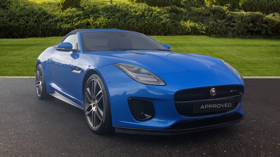 Jaguar F-TYPE 3.0 [380] Supercharged V6 R-Dynamic Automatic 3 door Convertible (2019)