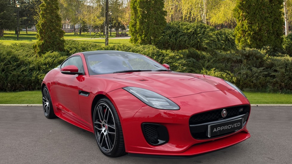 Jaguar F-TYPE 3.0 [380] S/C V6 Chequered Flag 2dr AWD Heated steering wheel Rear camera Automatic Coupe (2019) image
