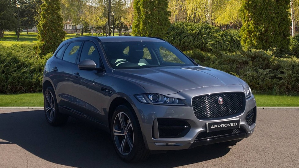 Jaguar F-PACE 2.0 i4 Diesel 240PS Diesel Automatic 5 door 4x4 (2019)