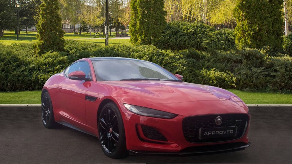 Jaguar F-TYPE 5.0 P450 Supercharged V8 R-Dynamic 2dr AWD Automatic Coupe (2021)