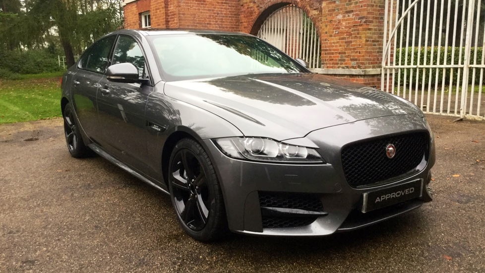 Jaguar XF 2.0d [180] R-Sport - Sliding Panoramic Roof - Low mileage - Black Pack -  Diesel Automatic 4 door Saloon (2017) image