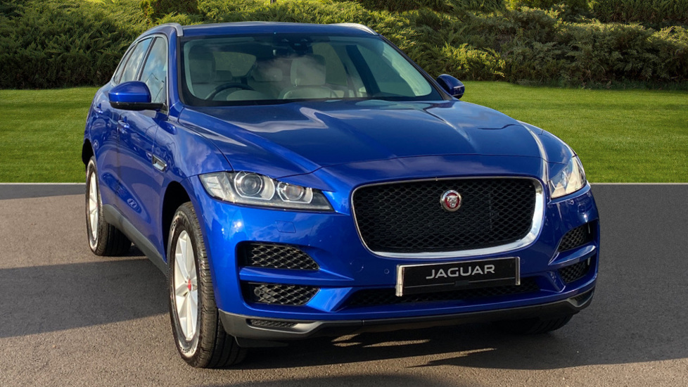 Jaguar F-PACE 2.0 Portfolio 5dr AWD Automatic Estate (2019) at Jaguar Hatfield thumbnail image