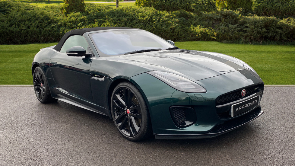 Jaguar F-TYPE 3.0 Supercharged V6 2dr Auto Automatic Convertible (2019) at Jaguar Hatfield thumbnail image