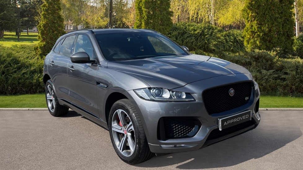 Jaguar F-PACE 3.0 Supercharged V6 S 5dr AWD with Meridian Sound System Automatic 4x4