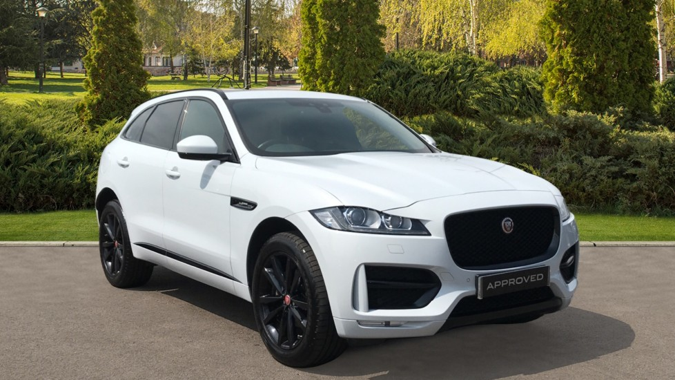 Jaguar F-PACE 2.0d R-Sport AWD with Panoramic Roof and Rear Camera Diesel Automatic 5 door Estate