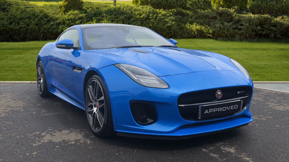 Jaguar F-TYPE 2.0 R-Dynamic 2dr Automatic 3 door Coupe (2018)