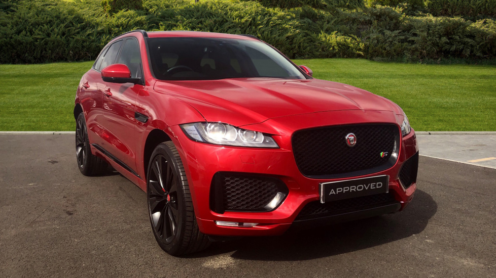 Jaguar F-PACE 3.0d V6 S 5dr AWD Diesel Automatic Estate (2018) available from Lamborghini Chelmsford thumbnail image