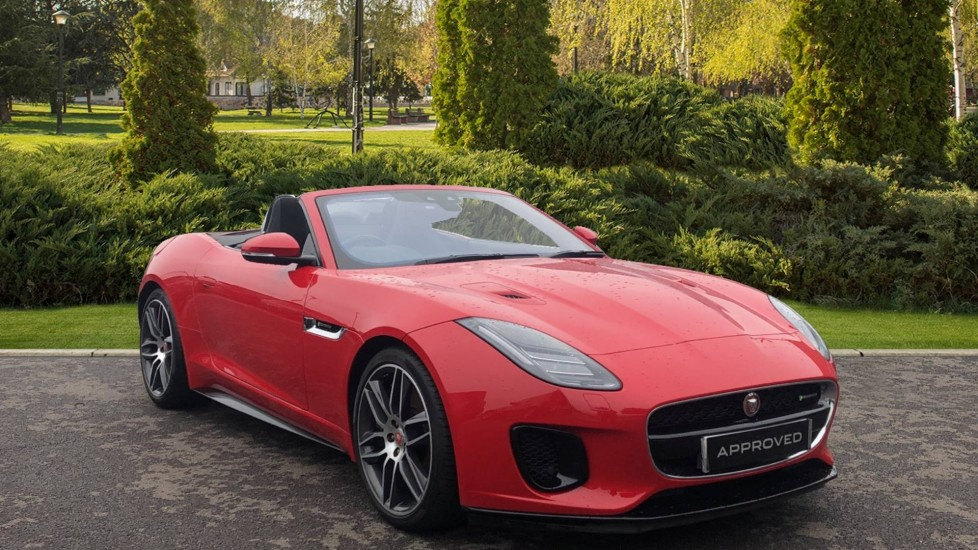 Jaguar F-TYPE 3.0 [380] Supercharged V6 R-Dynamic 2dr AWD Automatic 5 door Convertible (2018)
