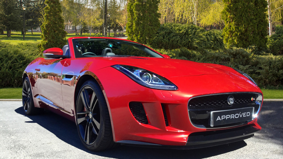 Jaguar F-TYPE 3.0 Supercharged V6 S 2dr Automatic Convertible (2013) image