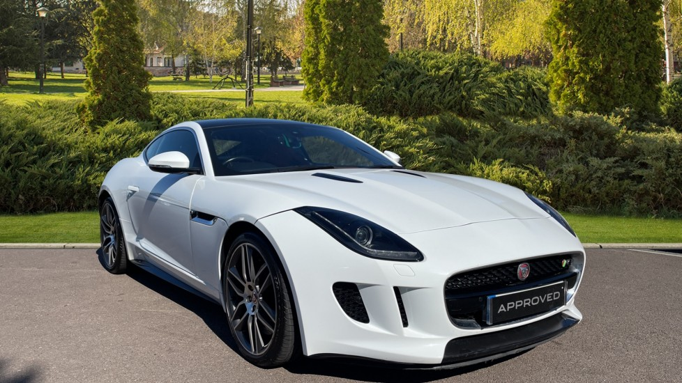 Jaguar F-TYPE 5.0 Supercharged V8 R Meridian Sound System, Fixed Panoramic roof Automatic 2 door Coupe