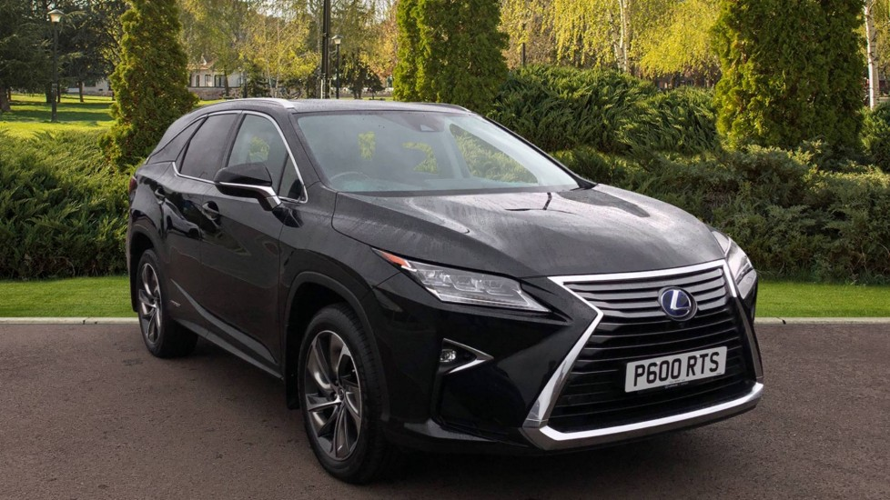 Lexus RX 450h L 3.5 Premier 5dr CVT [Sunroof] Petrol/Electric Automatic Estate (2018) available from Ford Wimbledon thumbnail image