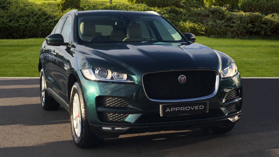 Jaguar F-PACE 2.0d Prestige 5dr AWD Diesel Automatic Estate (2017) at Jaguar Hatfield thumbnail image