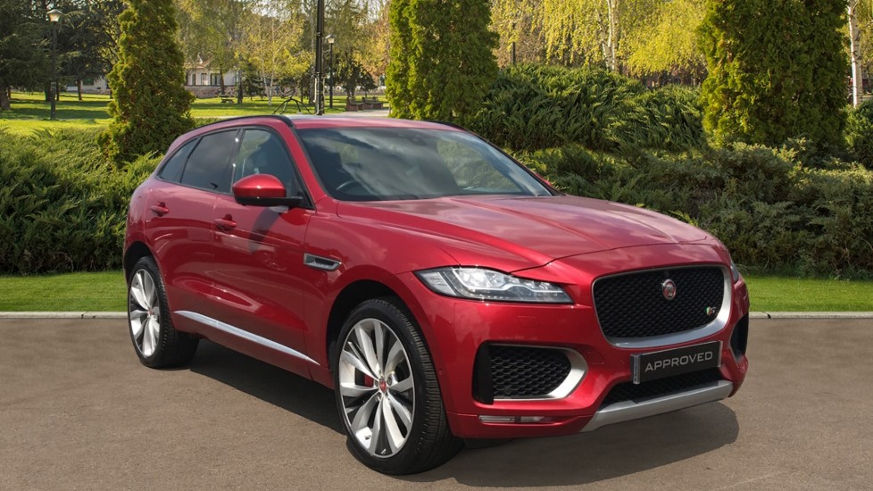 Jaguar F-PACE 3.0d V6 S 5dr AWD Privacy glass, Configurable Ambient Interior Lighting Diesel Automatic 4x4