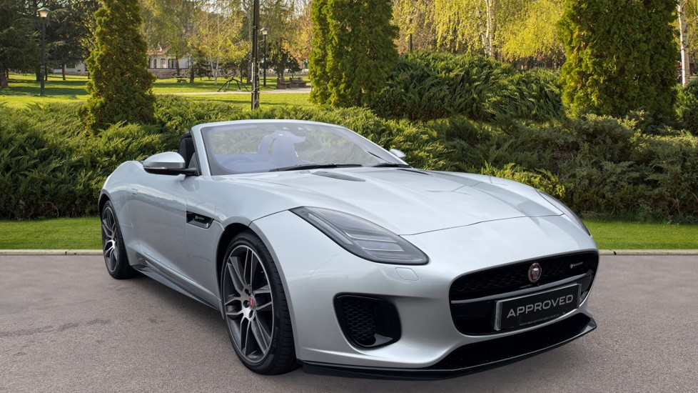 Jaguar F-TYPE 3.0 Supercharged V6 R-Dynamic Rear Camera Heated steering wheel Automatic 2 door Convertible