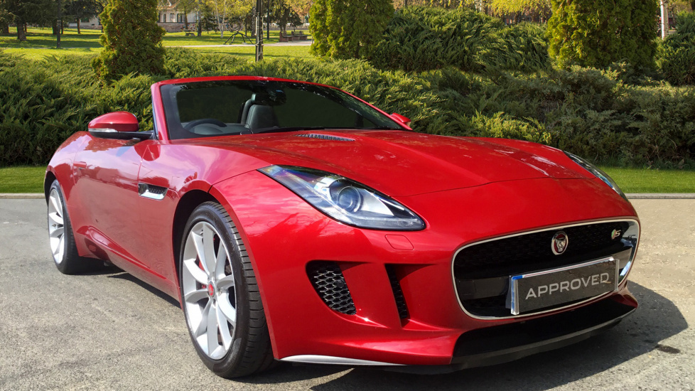 Jaguar F-TYPE 3.0 Supercharged V6 S 2dr Automatic Convertible (2014) image