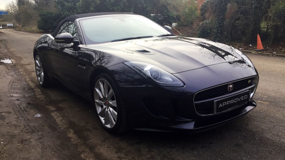 Jaguar F-TYPE 3.0 Supercharged V6 S 2dr AWD Automatic Convertible (2015) image