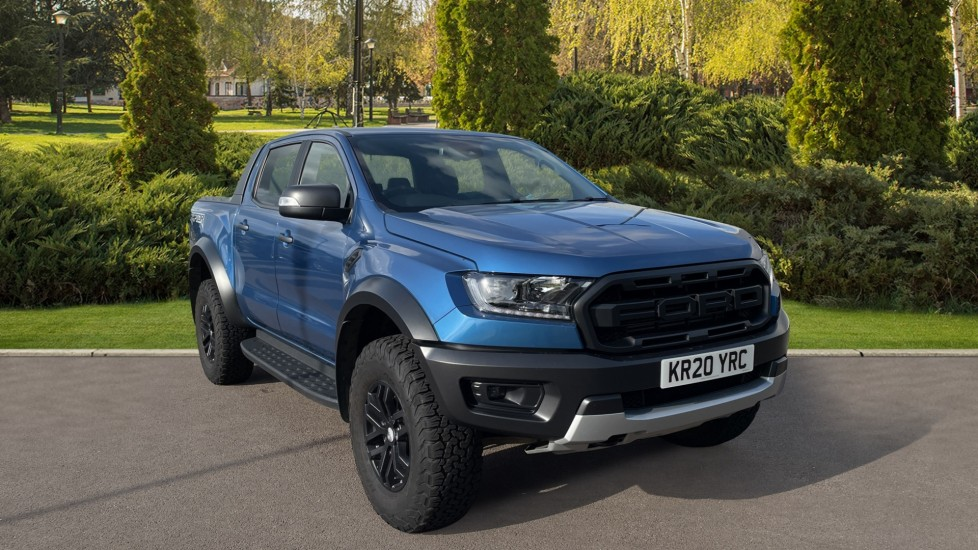 Ford Ranger RANGER RAPTOR ECOBLUE 4X4 Rear Camera Privacy Glass 2.0 Diesel Automatic 2 door Pickup (2020)