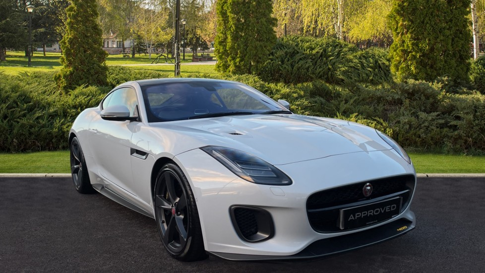Jaguar F-TYPE 3.0 Supercharged V6 400 Sport AWD Meridian Surround Sound System Heated steering wheel Automatic 2 door Coupe