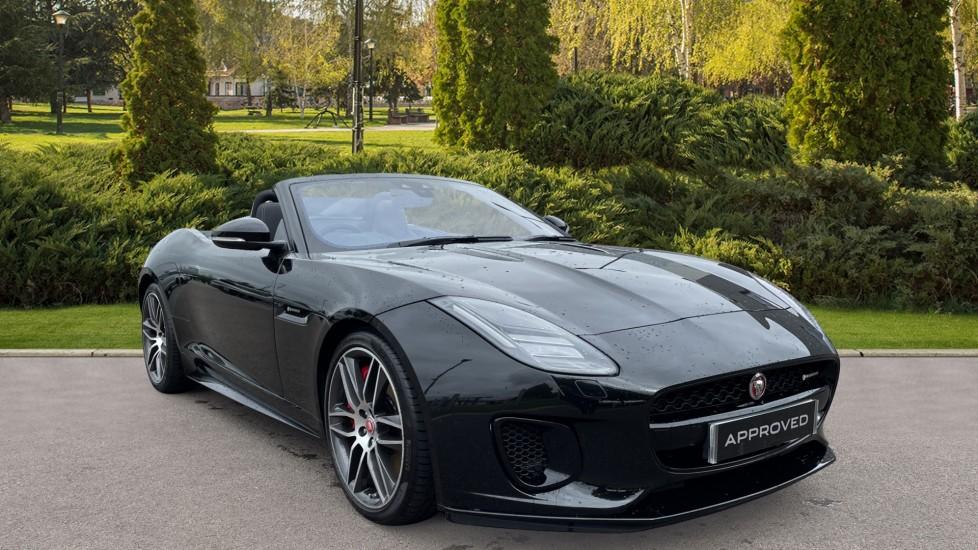 Jaguar F-TYPE 3.0 [380] Supercharged V6 R-Dynamic MeridianTM Sound System, Configurable Dynamics Automatic 2 door Convertible