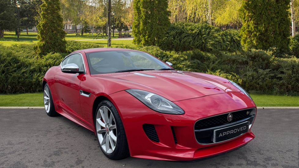 Jaguar F-TYPE 3.0 Supercharged V6 S Keyless Entry Rear Camera Automatic 2 door Coupe