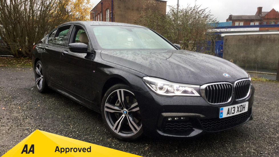 BMW 7 Series 730d M Sport 3.0 Diesel Automatic 4 door Saloon (2015) image