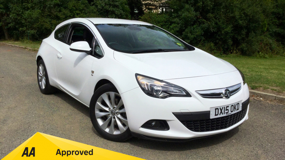 Vauxhall Astra GTC 2.0 CDTi 16V SRi 3dr with Sight and Light Pack Diesel Coupe (2015) image