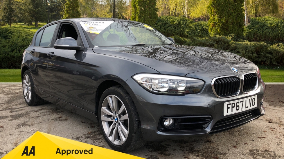 BMW 1 Series 120i [2.0] Sport [Nav] 5 door Hatchback (2017)